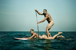 Laird Hamilton and Gabby Reece in ESPN's The Magazine Body Issue 2015